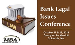 MBA Bank Legal Issues Conference