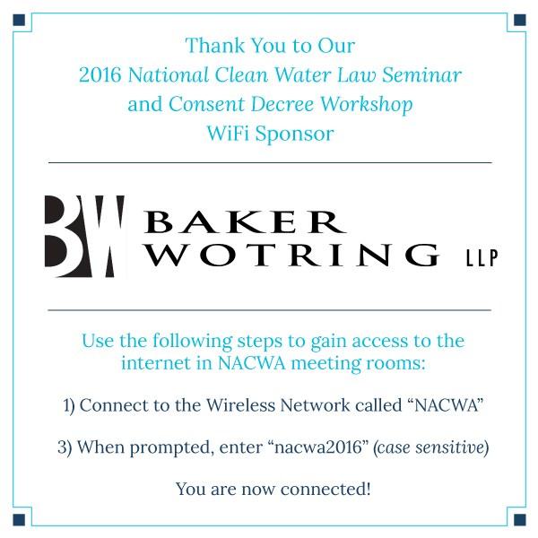 2016 Consent Decree Workshop