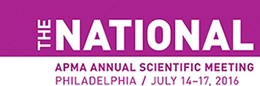 APMA 2016 Annual Scientific Meeting (The National)