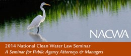 2014 National Clean Water Law Seminar