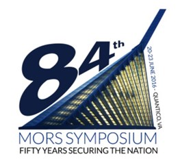 84th MORS Symposium
