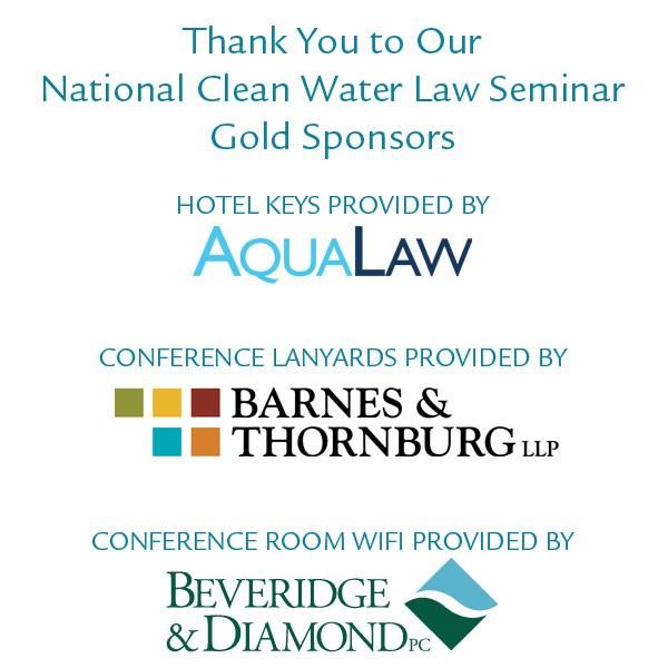 2014 National Clean Water Law Seminar