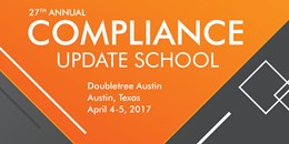 Compliance Update School