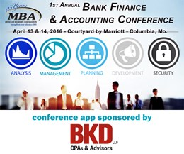 2016 Bank Finance & Accounting Conference