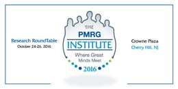 The PMRG Institute 2016