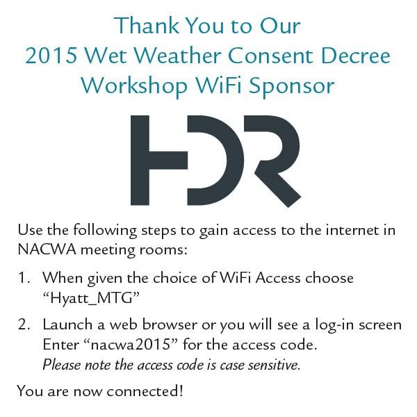 2015 Wet Weather Consent Decree Workshop