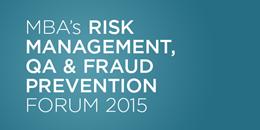 Risk Management, QA & Fraud Prevention Forum 2015