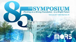 85th MORS Symposium