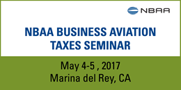 2017 Business Aviation Taxes Seminar
