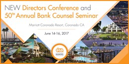 Directors Conference & Bank Counsel Seminar