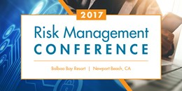 2017 Risk Management Conference