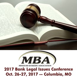 2017 Bank Legal Issues Conference