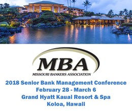 2018 Senior Bank Management Conference