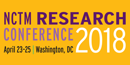 NCTM Research Conference 2018