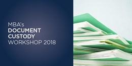 Document Custody Workshop 2018