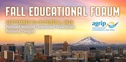 2018 Fall Educational Forum