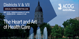 2018 Districts V & VII Annual Meeting