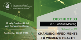 2018 District XI Annual Meeting