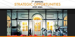Strategic Opportunities M&A Conference