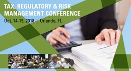 2018 Tax, Regulatory & Risk Management Conference