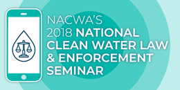 2018 Natl Clean Water Law & Enforcement Seminar