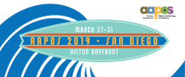 AAPOS 2019 Annual  Meeting