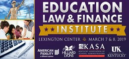 Education Law and Finance Institute 2019