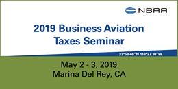 2019 Business Aviation Taxes Seminar