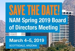 NAM Spring 2019 Board of Directors Meeting