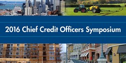 2016 Chief Credit Officers Symposium