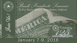 2016 Bank Presidents Seminar
